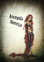 Anorexia Nervosa art by Pixie-Vampire