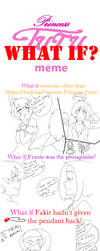 The What If meme by Quiet-Chrysanthemum