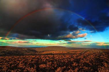 Quantock Rainbow by EllieEllis