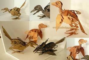 Clockwork birds by melanippos