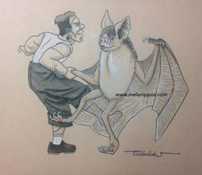 Swing Dancing Monster Mash by melanippos