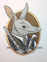 The Bilby flautist... by melanippos