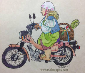 Rosie Cotton by melanippos