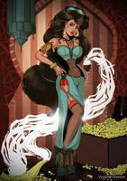 Pinup: Jasmine by VirginieSiveton