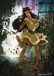 Tribute to Pocahontas by VirginieSiveton