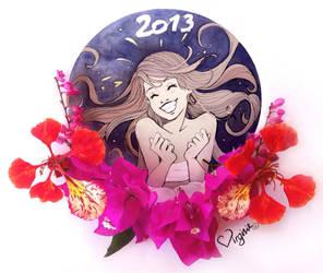 Virginie Siveton Greatings 2013 ! Happy New Year! by VirginieSiveton