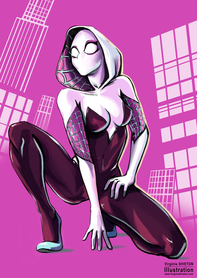 Spidergwen by VirginieSiveton