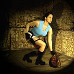 Original Lara Cosplay by pbbunnybear