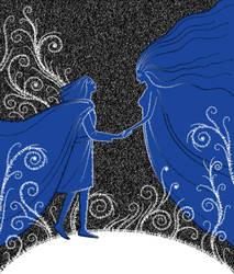 Thingol and Melian by zdrava