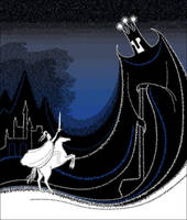Fingolfin and Morgoth by zdrava
