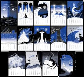The Silmarillion Calendar 2013 by zdrava