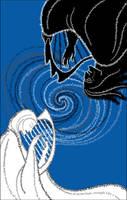 Finrod vs. Sauron by zdrava
