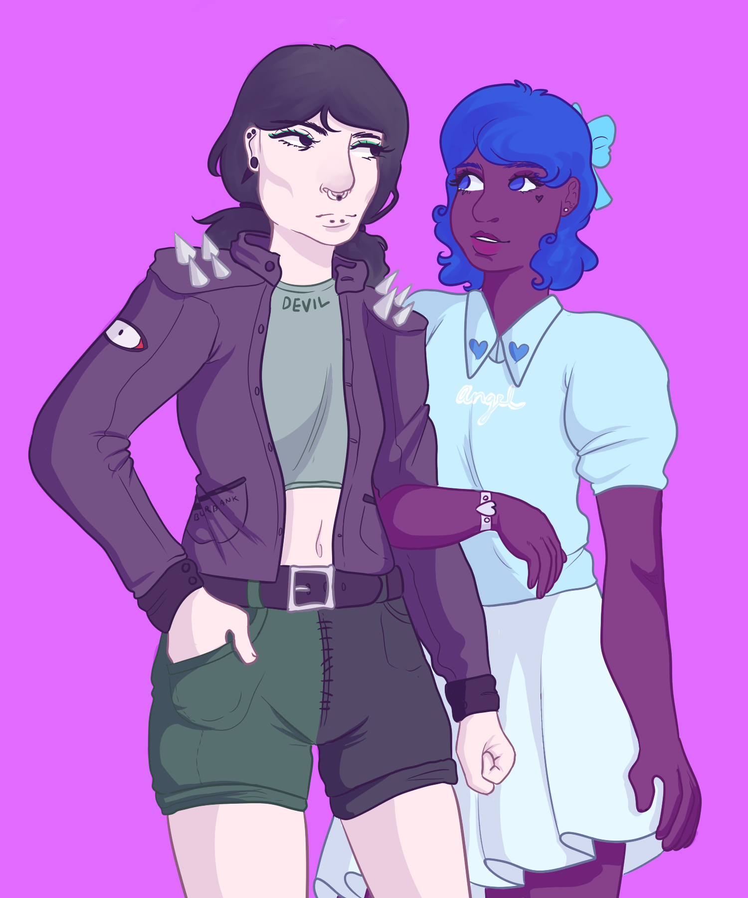 fashionable gays by ghoulplum