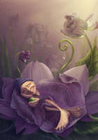 Pleasant awakening :) by Avi-li
