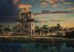Castle by Avi-li