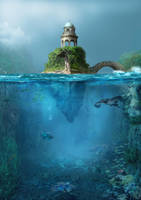 Islet by Avi-li