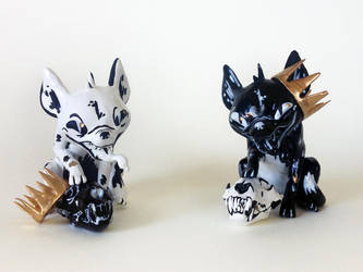 Hyenas by wolvesrevolution