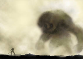shadow of the colossus tribute by WillWarburton