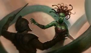Medusa by WillWarburton