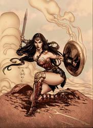 Wonder Woman! by BrunoCotic