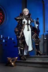 Johanna the Crusader Cosplay I by Hanuro-Sakura