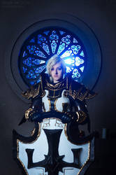 Johanna the Crusader Cosplay V by Hanuro-Sakura