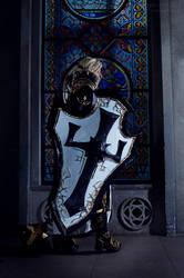 Johanna the Crusader Cosplay VI by Hanuro-Sakura