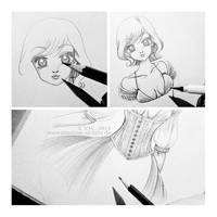 :: corset :: (2013) by Phantom-of-light