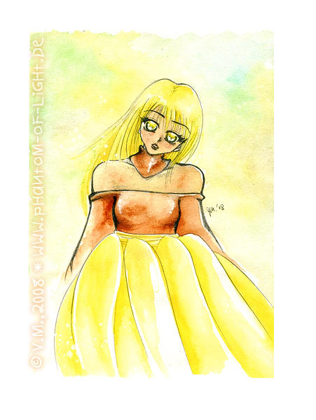 :: yellow eyes :: (2008) by Phantom-of-light