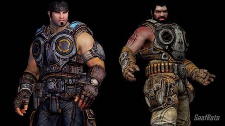 [DOA5LR] [DL] Gears of War 3 import pack #1 by SaafRats