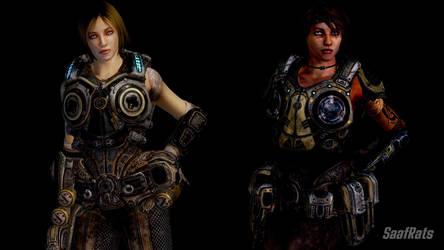 [DOA5LR] [DL] Gears of War 3 import pack #3 by SaafRats