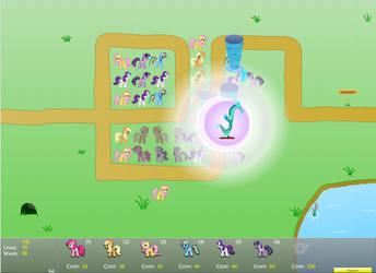 Canterlot Siege 1.6: Perfect Mode - Map 01 by AqomXG