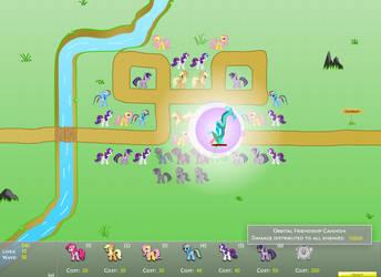Canterlot Siege 1.6: Perfect Mode - Map 04 by AqomXG