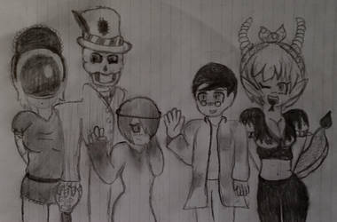 One Big Happy Family! by SpringTrap23