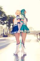 Sailor Moon: Back to back by furesiya