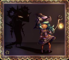 (open) Lantern Witch adopt- Bramble-REDUCED price by furesiya
