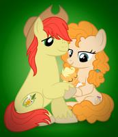 Applejack's Parents by jhayarr23