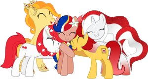 OC Vector - SEAPonyCon Ponies by jhayarr23
