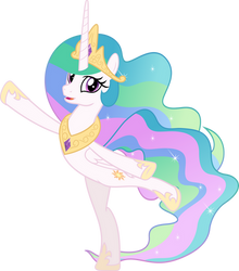 MLP Vector - Princess Celestia by jhayarr23