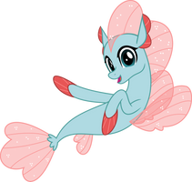 MLP Vector - Seapony Ocellus by jhayarr23