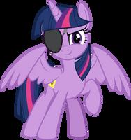 MLP Vector - Twilight Sparkle #19 (Eyepatch) by jhayarr23