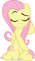 MLP Vector - Fluttershy #15 by jhayarr23