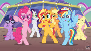 EG-MLP Wallpaper - Pony Swag by jhayarr23
