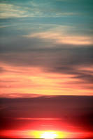 Gradient sunset by RudEphant