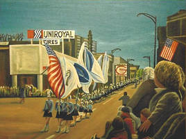 Parade on East Ave Alt Version by StephenL