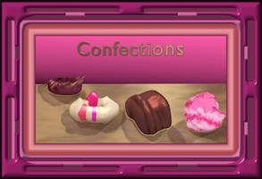Confections Image Framed by StephenL