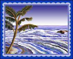 Simple Seashore by StephenL