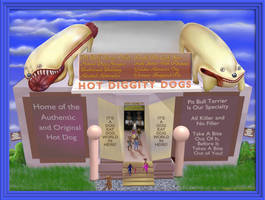 Hot Diggity Dogs by StephenL