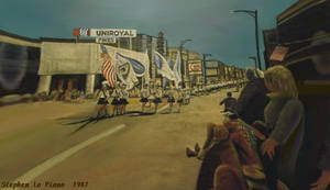 Parade on East Avenue by StephenL
