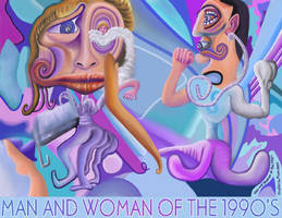Man and Woman of the 1990's by StephenL